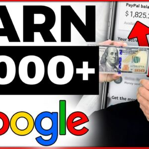 Earn $1,000+ Searching Google for FREE (WORKING ✅)   Make Money Online