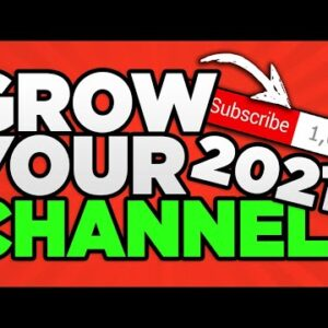 How To Get 1,000 Subscribers EVERY WEEK! *NEW 2021 TIPS* 📈 GROW On YouTube FAST In 2021