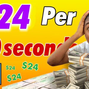 Get Paid $24 Every 60 SECONDS Viewing Free Images! ($1,264 Paid)   Make Money Online