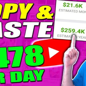 Copy & Paste Videos And Earn $478 Per Day (Full Tutorial Without Making Videos)