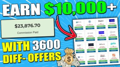 Make Money With Affiliate Marketing as a Beginner Using This WEBSITE That has 3600 Products