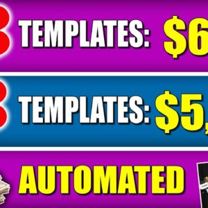 How To Make Money With YouTube Shorts By Turning TEMPLATES Into YOUTUBE SHORT Videos!